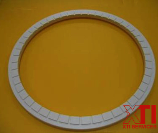 "Ebara 8"" guide ring, singapore, china, malaysia, PPS, PEEK, SUS, carbon, CMP retaining ring, 200mm, 300mm, G2, G3"
